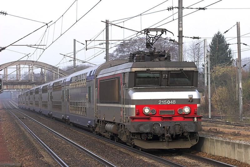 215048 Claremont de L'oise 17/2/2011<br /> 848566 0931 Amiens-Paris Nord