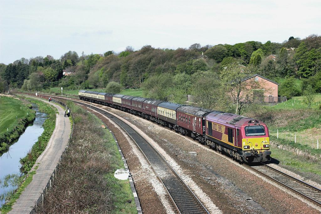 67022 Lostock 17/4/2011<br /> 1Z35 1002 Horwich Parkway-Wembley Central