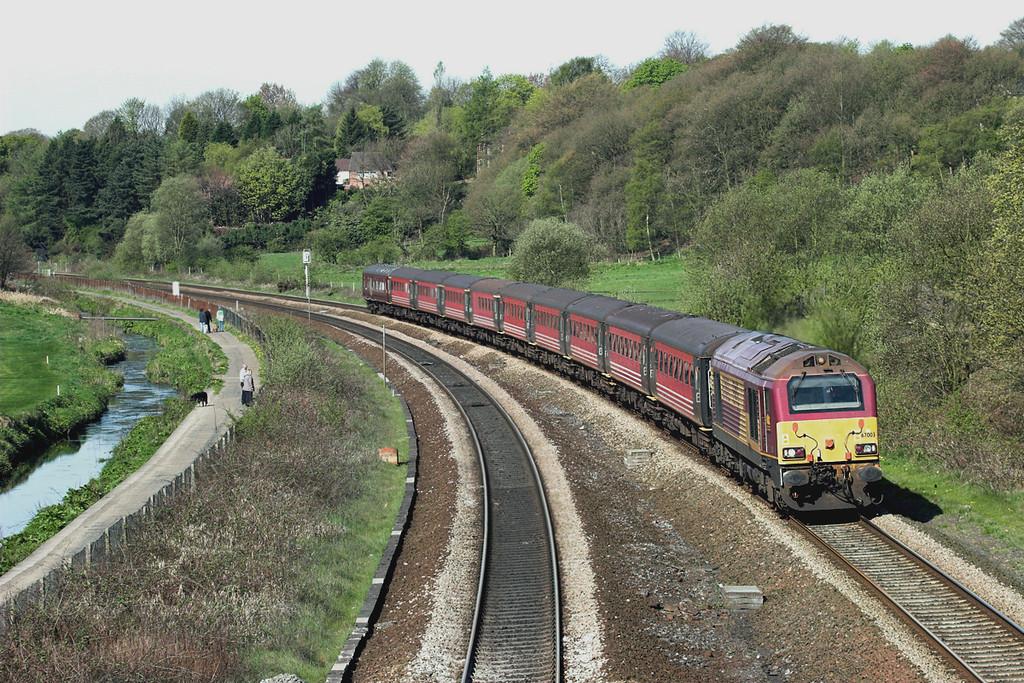 67003 Lostock 17/4/2011<br /> 1Z37 0941 Horwich Parkway-Wembley Central