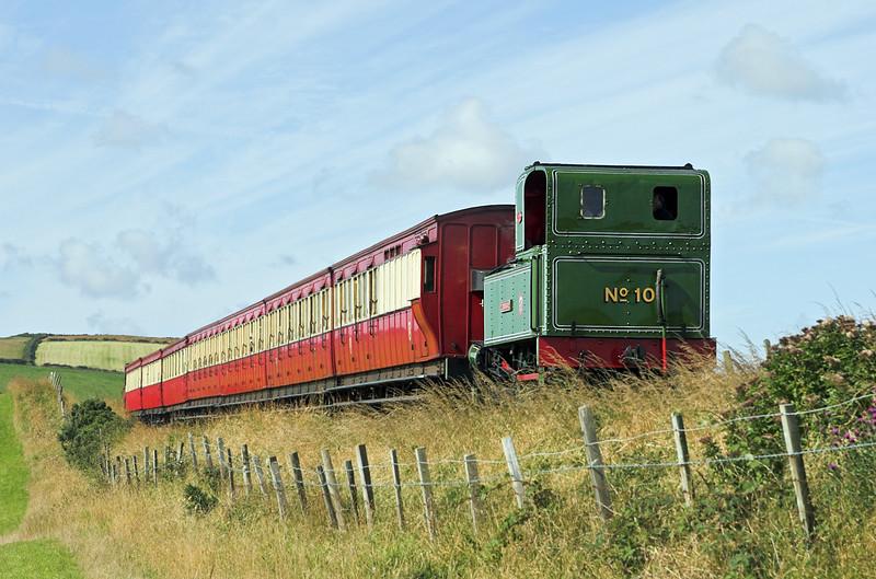 10 'G H Wood', Ballashamrock 17/8/2011<br /> 0950 Port Erin-Douglas