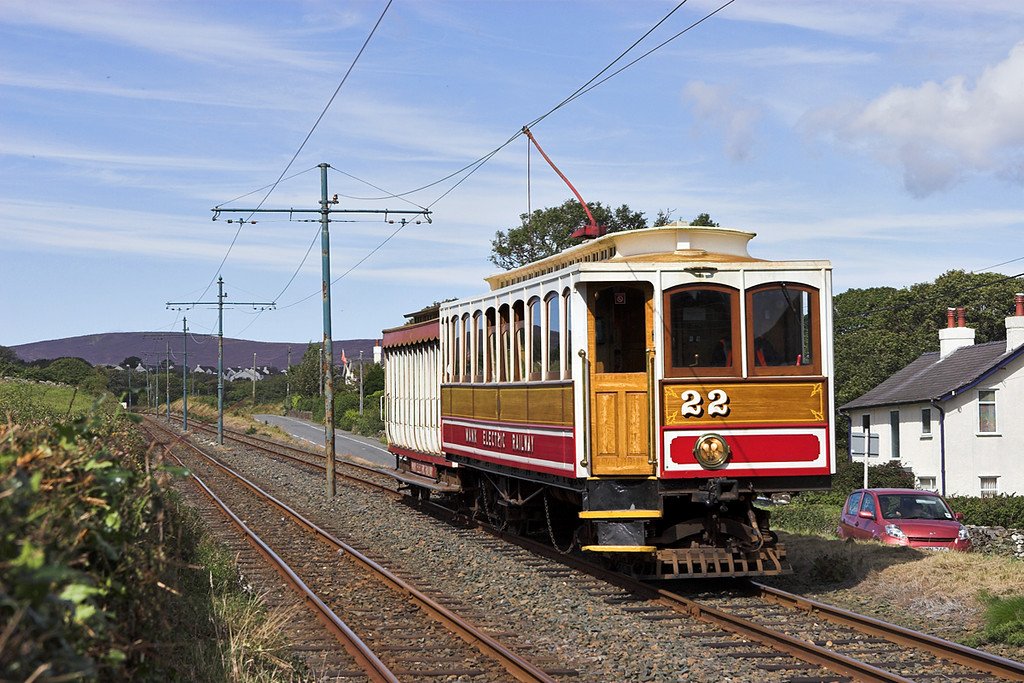 22 and 40, Ballabeg 17/8/2011<br /> 1455 Laxey-Douglas