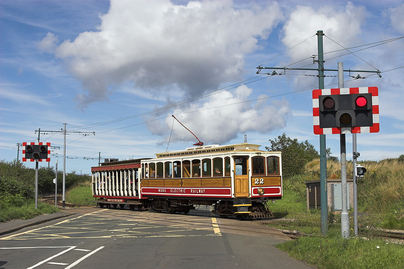 22 and 40, Baldromma 17/8/2011<br /> 1455 Laxey-Douglas