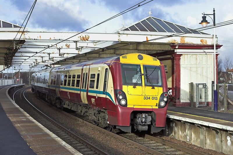 334013 Troon 18/1/2011<br /> 1K17 1200 Glasgow Central-Ayr