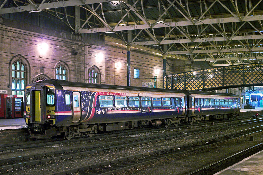 156477 Carlisle 18/1/2011<br /> 1S73 1712 Newcastle-Glasgow Central
