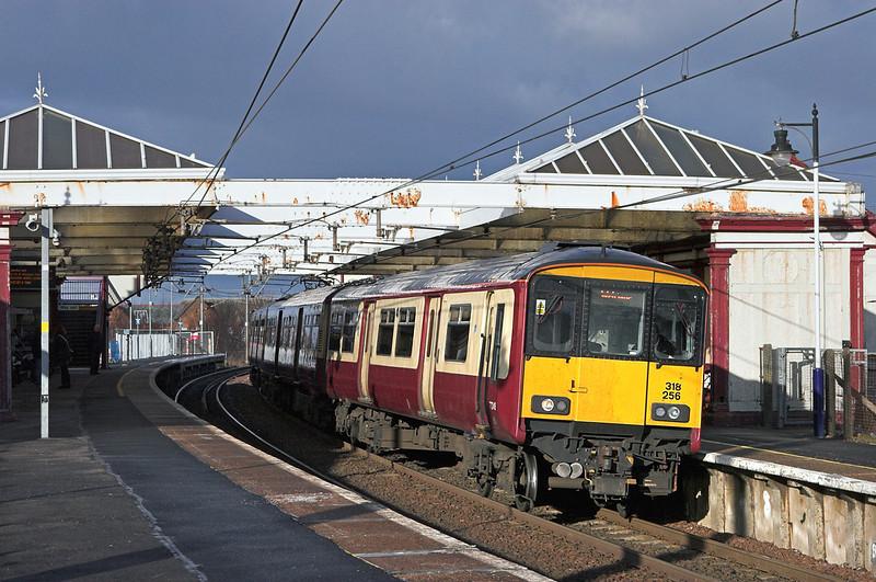 318256 Troon 18/1/2011<br /> 2K19 1130 Glasgow Central-Ayr