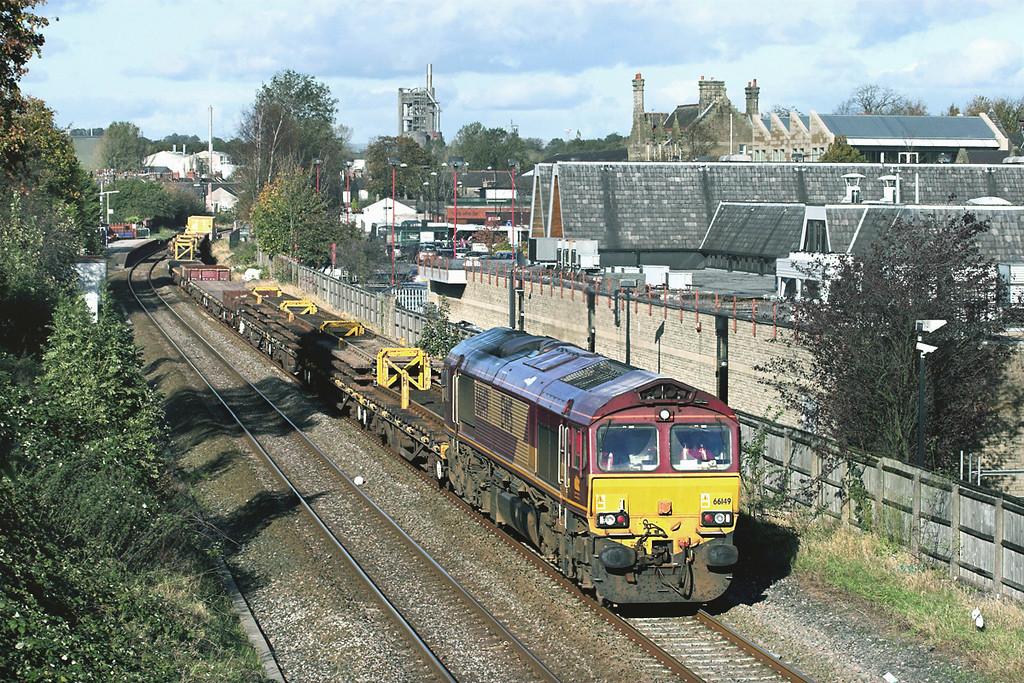 66149 Clitheroe 19/10/2011<br /> 6K05 1218 Carlisle Yard-Basford Hall