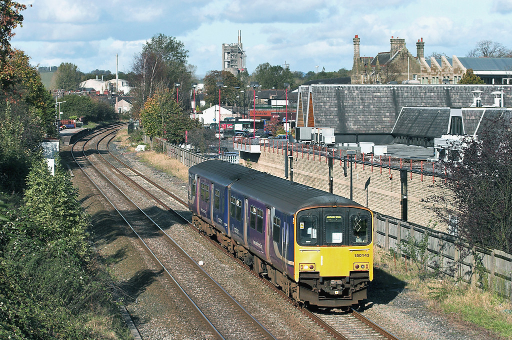 150143 Clitheroe 19/10/2011<br /> 2J56 1525 Clitheroe-Manchester Victoria
