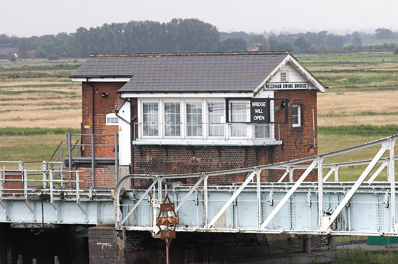 Reedham Swing Bridge 21/7/2011