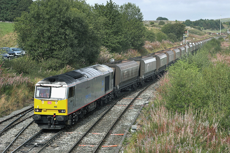 60099 Great Rocks Junction 22/9/2011<br /> 6H03 1202 Oakleigh-Tunstead