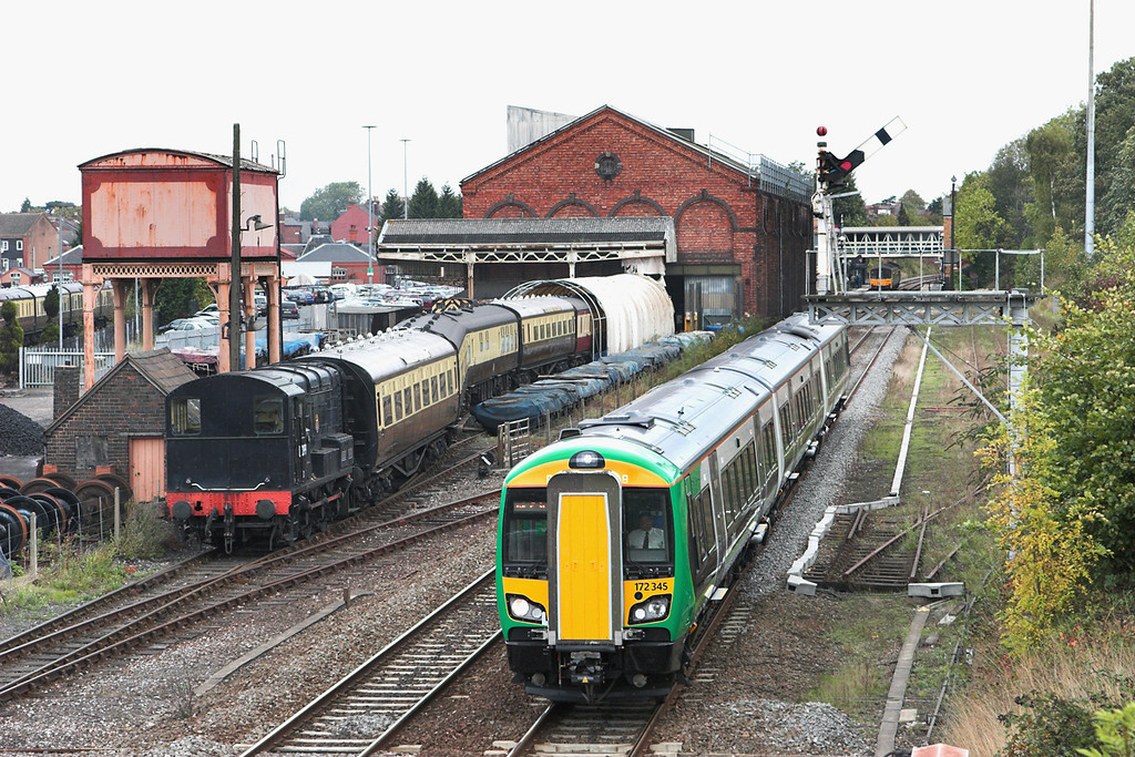 172345 Kidderminster 23/9/2011<br /> 2V22 1119 Whitlocks End-Worcester Foregate Street