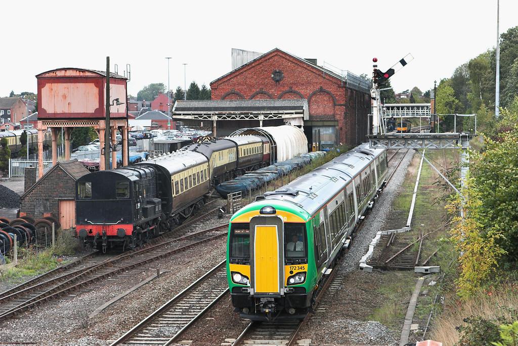 172345 Kidderminster 23/9/2011<br /> 2V22 1119 Whitlocks End-Worcester Foregate Street