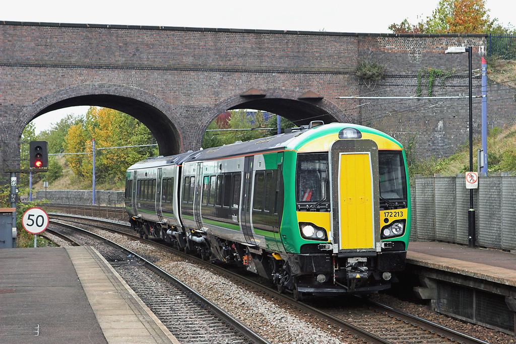 172213 The Hawthornes 23/9/2011<br /> 5T99 1000 Worcester Shrub Hill-Whitlocks End