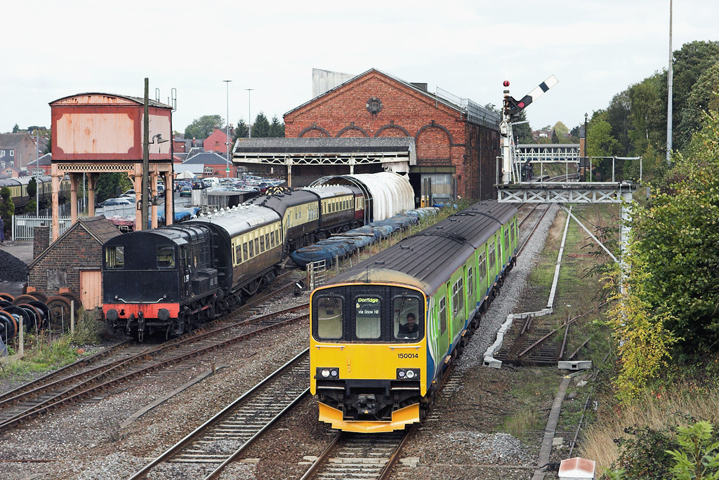 150014 Kidderminster 23/9/2011<br /> 2K23 1138 Whitlocks End-Kidderminster