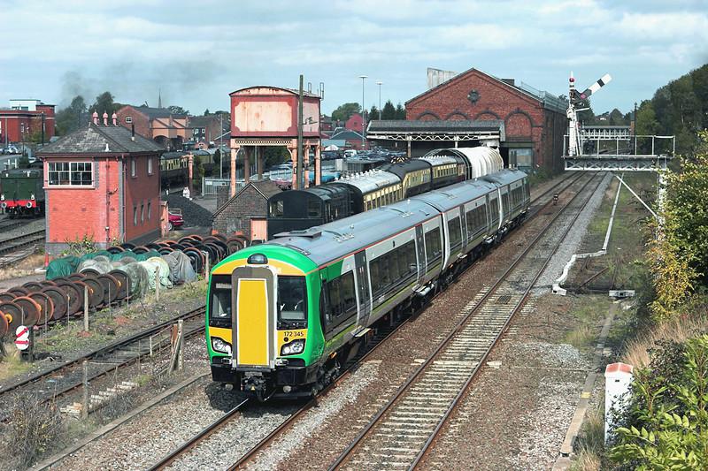 172345 Kidderminster 23/9/2011<br /> 2S44 1246 Worcester Foregate Street-Whitlocks End
