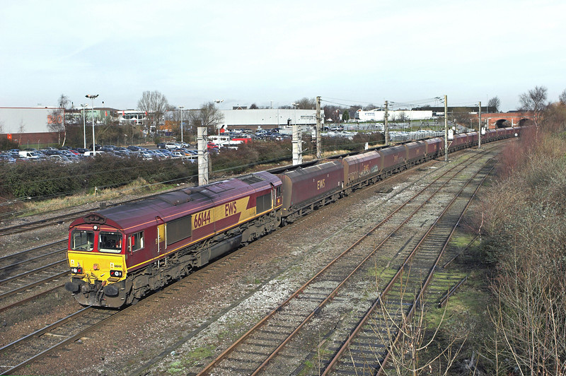 66144 Warrington Bank Quay 24/2/2011<br /> 6F81 0914 Liverpool Bulk Terminal-Fiddlers Ferry PS