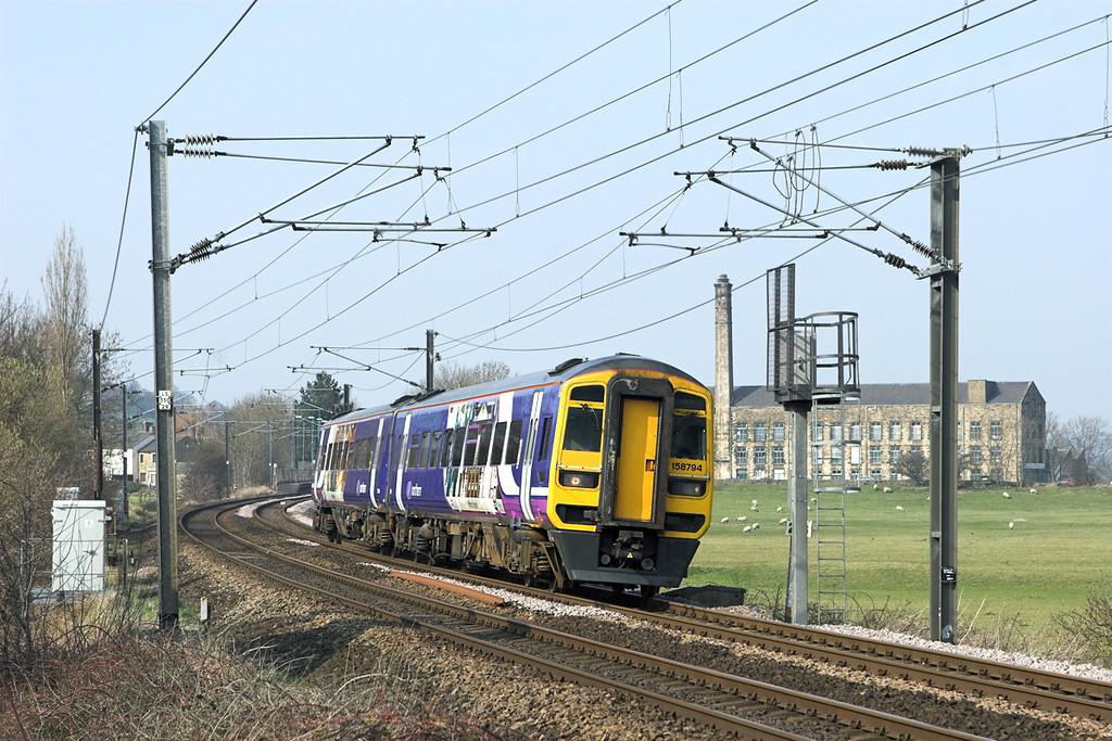 158794 Cononley 24/3/2011<br /> 2H89 1151 Carlisle-Leeds