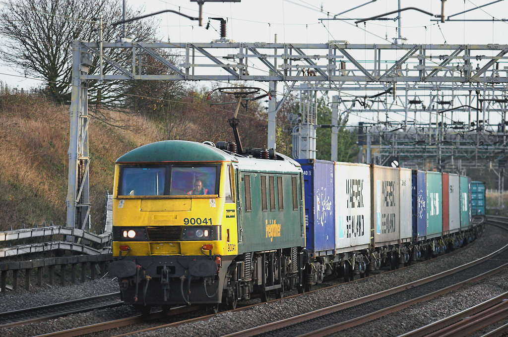 90041 Cow Roast 25/11/2011<br /> 4M87 1114 Felixstowe FLT-Trafford Park FLT