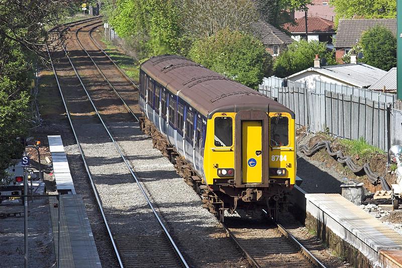 8784 Whiteabbey 27/4/2011<br /> 1600 Carrickfergus-Belfast Central