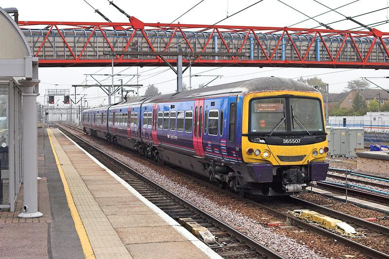 365507 Cambridge 27/9/2011<br /> 1T56 0827 Kings Lynn-London Kings Cross
