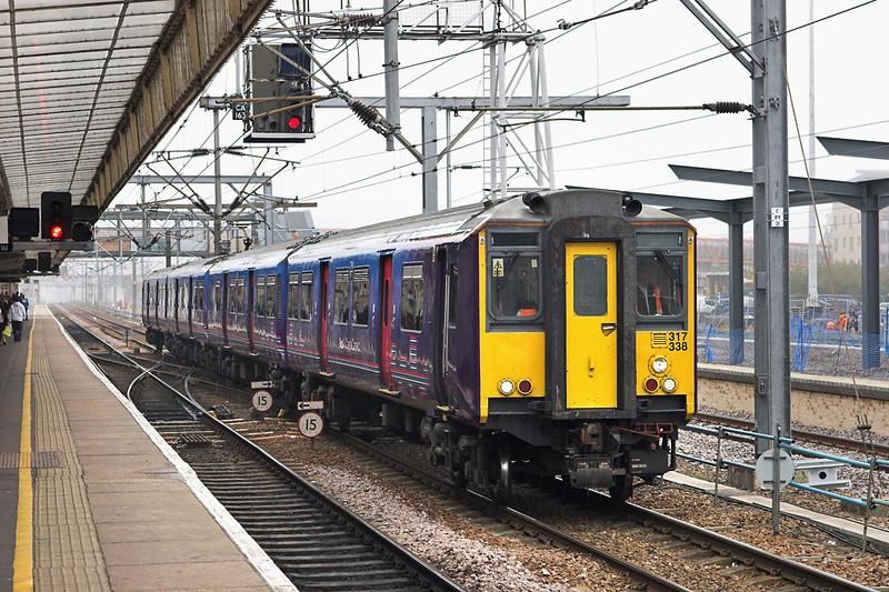 317338 Cambridge 27/9/2011<br /> 5E00 0930 Cambridge TMD-Hornsey EMD