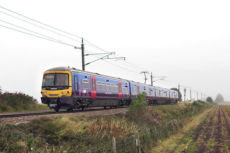 365514 Littleport 27/9/2011<br /> 1T59 0959 Kings Lynn-London Kings Cross