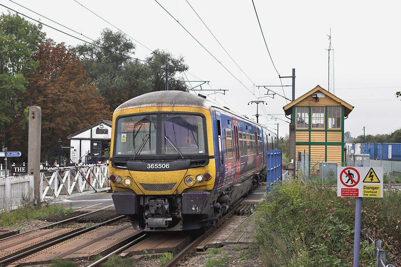 365506 Littleport 27/9/2011<br /> 1T08 1045 London Kings Cross-Kings Lynn