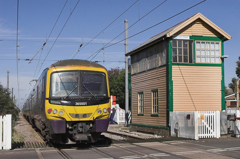365501 Watlington 27/9/2011<br /> 1T12 1245 London Kings Cross-Kings Lynn