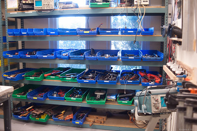 Tools for use by members.  Just about everything you can think of... and then some! [TechShop Menlo Park]