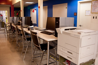 CAD workstations and a networked laser printer.  The workstations are fully loaded with all the CAD and Adobe software you wish you could afford at home! [TechShop Menlo Park]