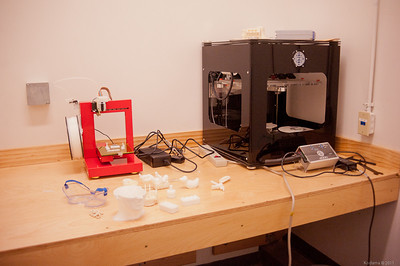 3D fabrication machine room. [TechShop San Jose]