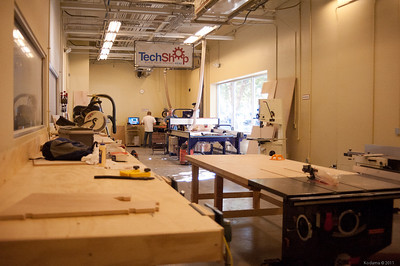 Wood shop. [TechShop San Jose]