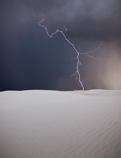 White Lightning<br /> White Sands National Monument, New Mexico, USA