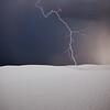 White Lightning<br /> White Sands National Monument, New Mexico, USA