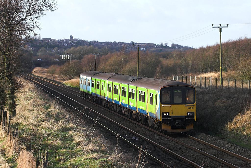 150111 and 150210, Horwich Parkway 2/1/2012<br /> 2H08 1423 Preston-Hazel Grove
