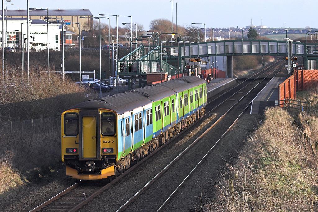 150210 and 150111, Horwich Parkway 2/1/2012<br /> 2H08 1523 Preston-Hazel Grove