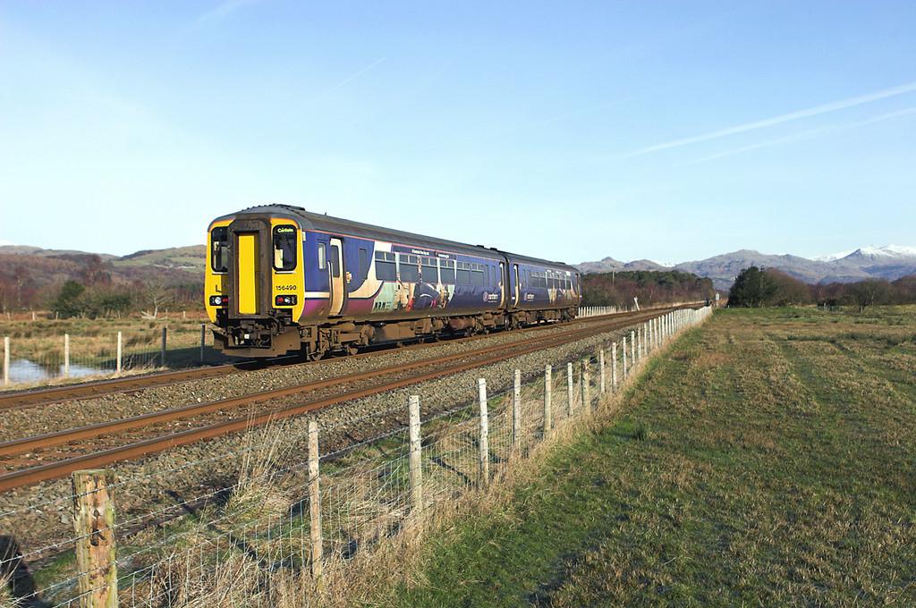 156490 Green Road 2/2/2012<br /> 2C40 0844 Carlisle-Barrow in Furness