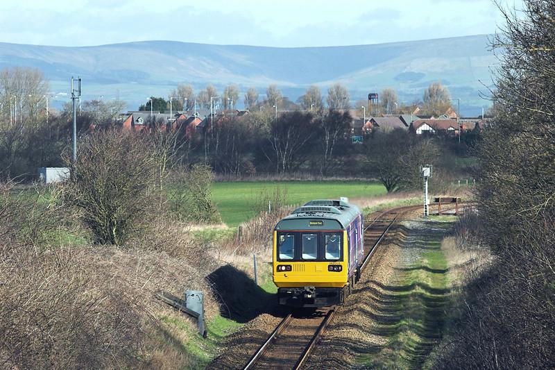 142003 Ribby 5/3/2012<br /> 2S11 1050 Colne-Blackpool South
