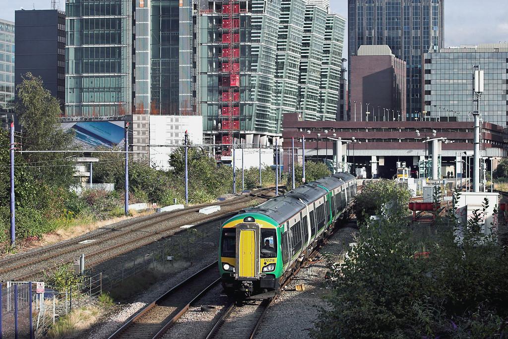 172218 and 172220, Birmingham St Pauls 4/9/2012<br /> 2K58 1718 Whitlocks End-Kidderminster