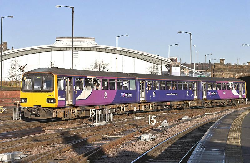 144018 Sheffield 5/12/2012<br /> 2L23 0932 Leeds-Sheffield