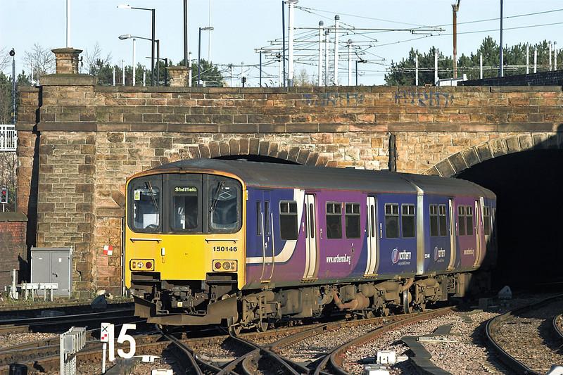 150146 Sheffield 5/12/2012<br /> 2N19 0948 Leeds-Sheffield