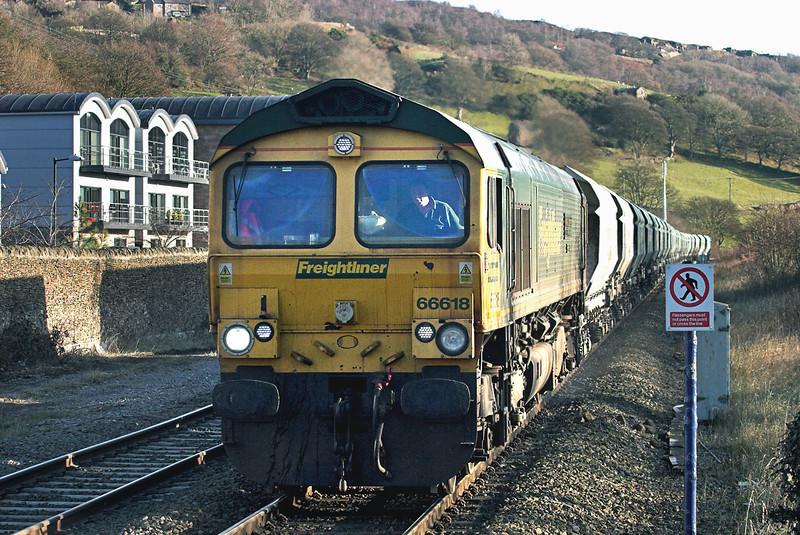 66618 Hathersage 5/12/2012<br /> 6Z81 1130 Eggborough PS-Tunstead