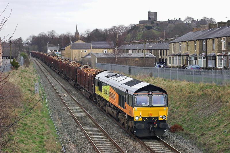 66850 Clitheroe 6/3/2012<br /> 6J37 1244 Carlisle Yard-Chirk