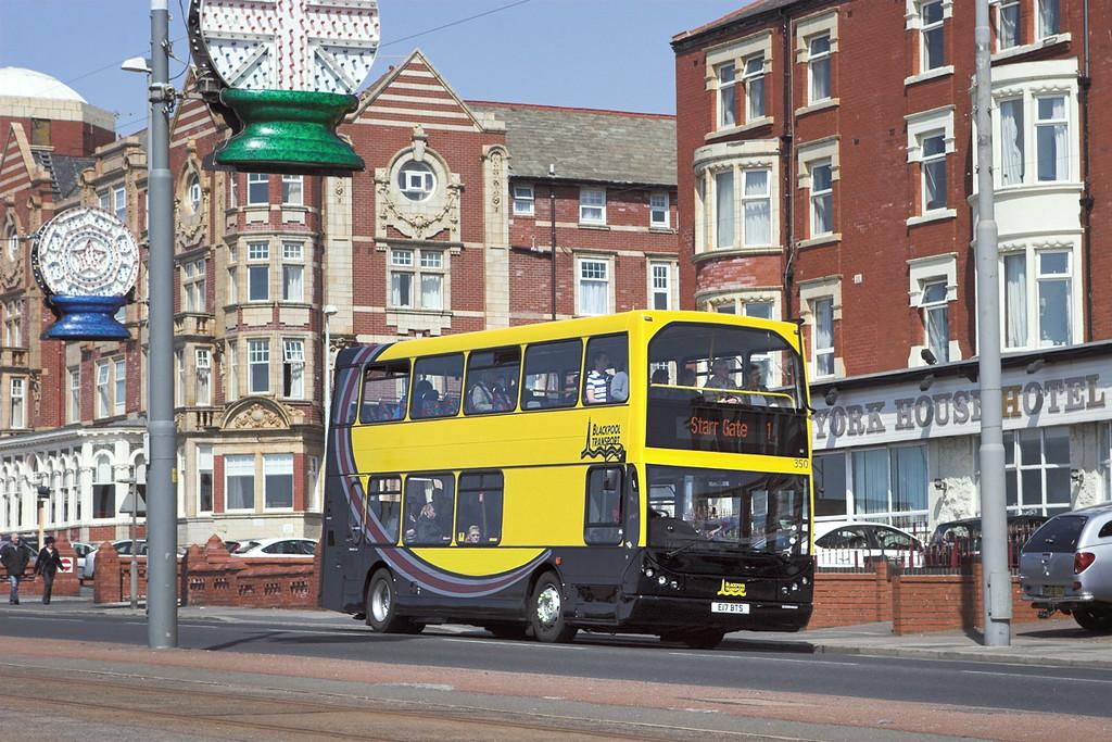 350 E17BTS, Blackpool 6/5/2012