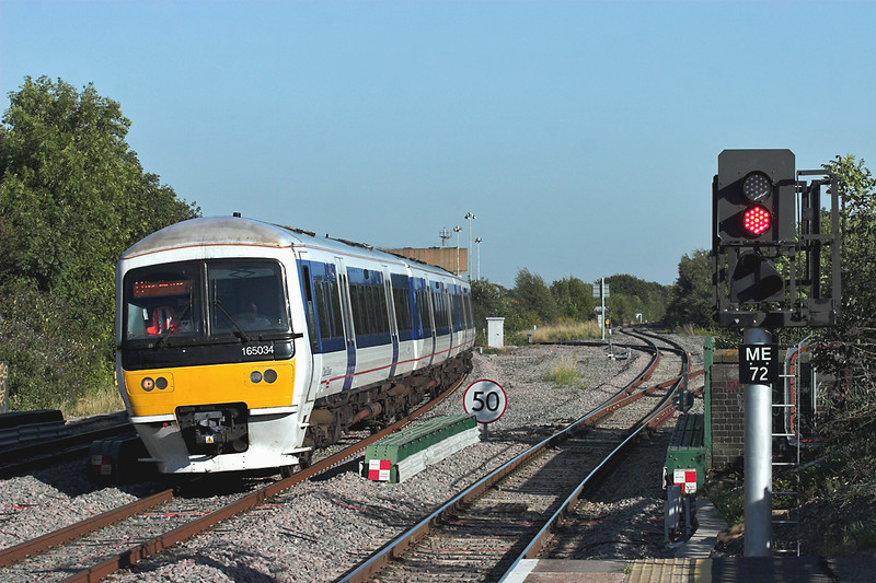 165034 South Ruislip 7/9/2012<br /> 1W48 1656 London Marylebone-High Wycombe