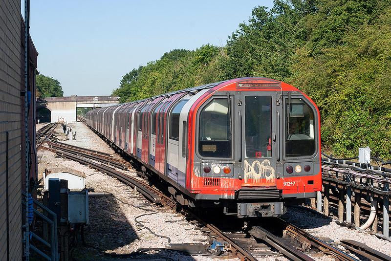 Central Line 91267, Northolt 7/9/2012