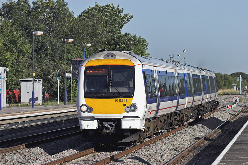 168218 South Ruislip 7/9/2012<br /> 1N47 1633 London Marylebone-Bicester North