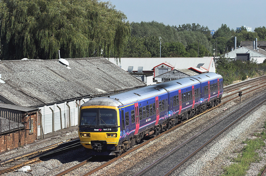 166218 West Drayton 7/9/2012<br /> 2R43 1412 London Paddington-Reading