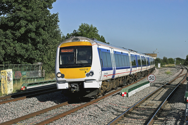 168216 South Ruislip 7/9/2012<br /> 1G45 1607 London Marylebone-Birmingham Snow Hill