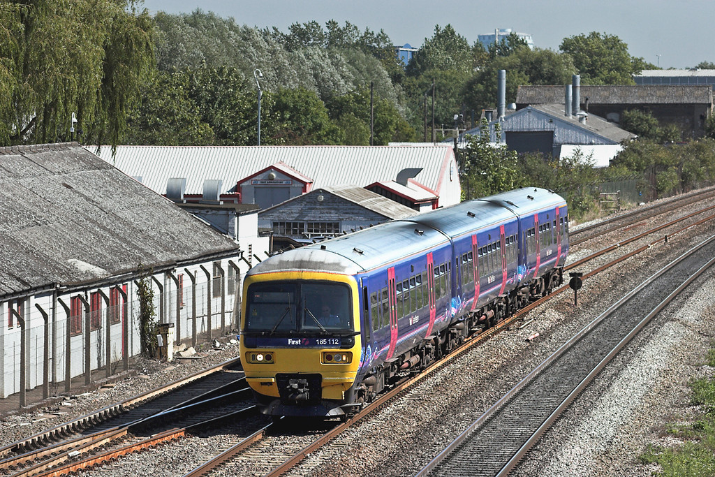 165112 West Drayton 7/9/2012<br /> 2R39 1315 London Paddington-Reading