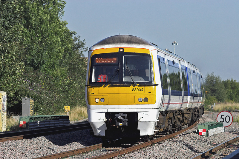 168004 South Ruislip 7/9/2012<br /> 1F93 1630 London Marylebone-Birmingham Snow Hill